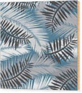 Palm Trees 10 Wood Print