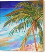 Palma Tropical II Wood Print