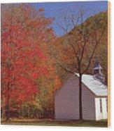 Palmer Chapel Wood Print
