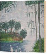 Palmetto Bayou Wood Print