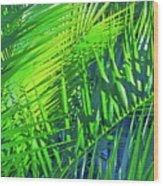 Palms 2 Wood Print