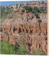 Palo Duro Canyon Amarillo Texas Wood Print