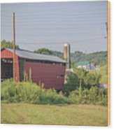 Palos Covered Bridge Wood Print