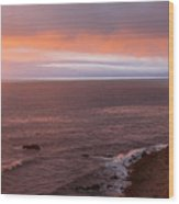 Palos Verdes At Sunset Wood Print