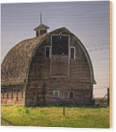 Palouse Barn Wood Print