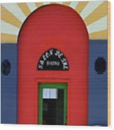 Palouse Door Wood Print
