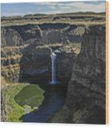 Palouse Falls Wood Print