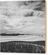 Palouse Field Ir 1034 Wood Print