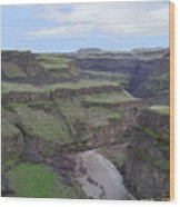 Palouse River Canyon Wood Print