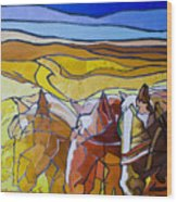 Palouse Trio Wood Print