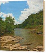 Paluxy River Wood Print