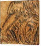 Pam - Tile Wood Print