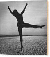 Pamela Dancing Wood Print