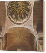 Pammakaristos Church Interior Wood Print
