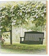 Pammys Swing Wood Print