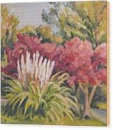 Pampas Landscape Wood Print