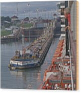 Panama Canal Wood Print