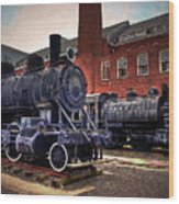 Panama Railroad Locomotive 299 Wood Print