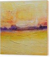 Pancake Ridge2 Wood Print