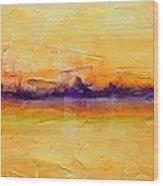 Pancake Ridge#1 Wood Print