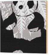 panda XXX Wood Print