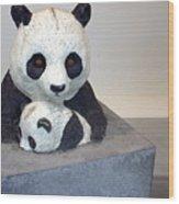 Pandaroras Box Wood Print