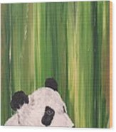Pandas Fading  Wood Print