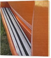 Panel Truck Running Board Wood Print