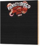 Panic At The Disco Wood Print