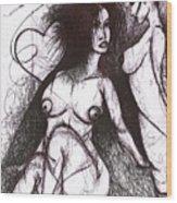 Panis Evil Wood Print