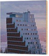 Hotel Panorama Resort Wood Print