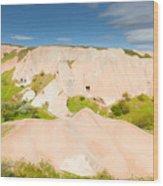 Panorama In Cappadocia Wood Print