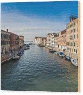 Panorama Of Venice Wood Print