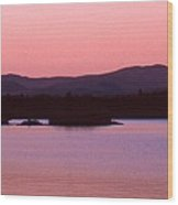 Panorama-predawn Lake Umbagog Wood Print