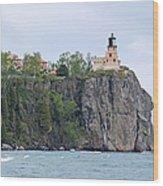 Panorama Rock Wood Print