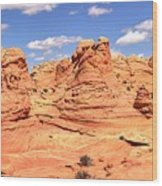 Panoramic Desert Landscape Fantasyland Wood Print