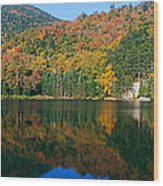 Panoramic View Of Crawford Notch State Wood Print