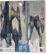 Pant Hanging Wood Print