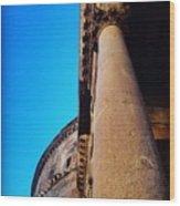 Pantheon Column Wood Print