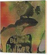 Killmonger Vs Tchalla Wood Print