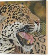 Panthera Wood Print