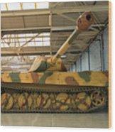 Panzer Vi Tiger Tank In Bovington, Uk Wood Print