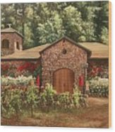 Paoletti  Estates Winery Wood Print