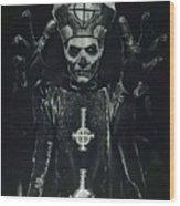 Papa Emeritus II Wood Print