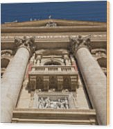 Papal Balcony Wood Print