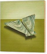 Paper Airplanes Of Wood 19 Wood Print