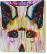 Paper Fox  Wood Print