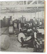 Paper Mill Wood Print