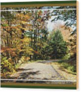 Paper Mill Trail, Framed Wood Print