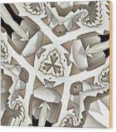 Paper Pattern Wood Print